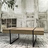 Table basse Oslo bois vintage...