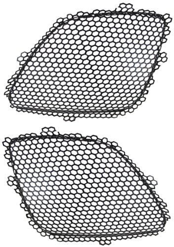 Pontiac G6 05-09 Right & Left Pair Set Grille Inner All Models Except GXP (Pontiac G6 Exterior Accessories compare prices)