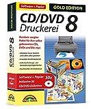 Software - CD/DVD Druckerei 8 mit Papier