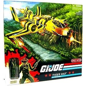 G.I. JOE Exclusive Deluxe Vehicle Tiger Rat with Wild Bill