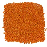 1kg Orange Crystel Sand For Garden Decor Plant Home Decor Backyard Patio Pathway Indoor And Outdoor Gravel Soil Stone Pebbles Chips Decoration Fish Tank Substrate