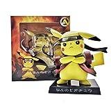 Pokemon Pikachu Cos Naruto Anime Pokemon PVC Action Figure Collection Model Children Toy Doll 15cm Gifts