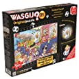 Wasgij Original Football Fever Jigsaw Puzzles with Free Football Wall Chart (2 x 1000 Pieces)