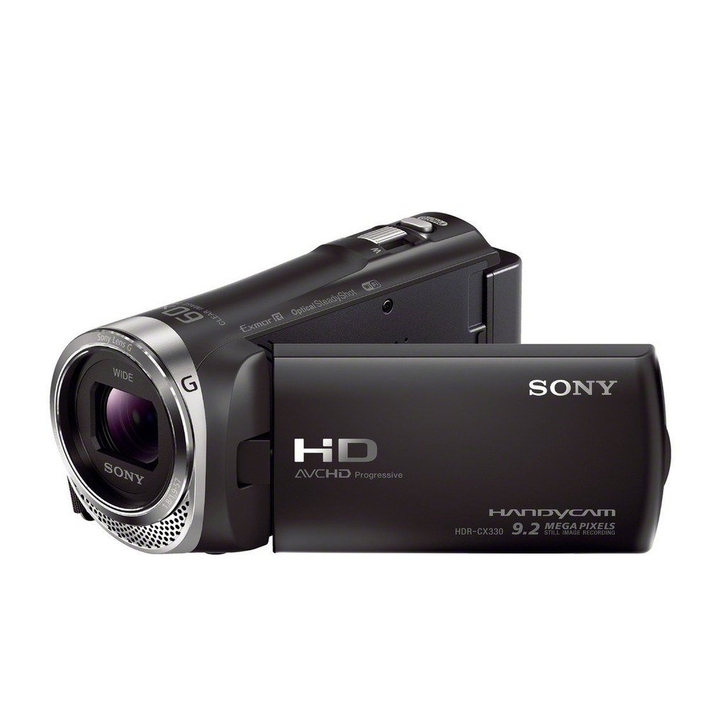 Sony HDRCX330 Video Camera with 2.7-Inch LCD (Certified Refurbished)