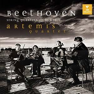 Beethoven : Quatuor à cordes n° 11, Op .95 - Quatuor à cordes n° 7, Op. 59/1