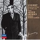 Arthur Grumiaux / Robert Veyron-Lacroix - Schubert: Violine Sonata & Sonatinas [Japan LTD CD] UCCD-9836
