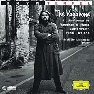 Bryn Terfel - The Vagabond & other songs by Vaughan Williams, Butterworth, Finzi & Ireland