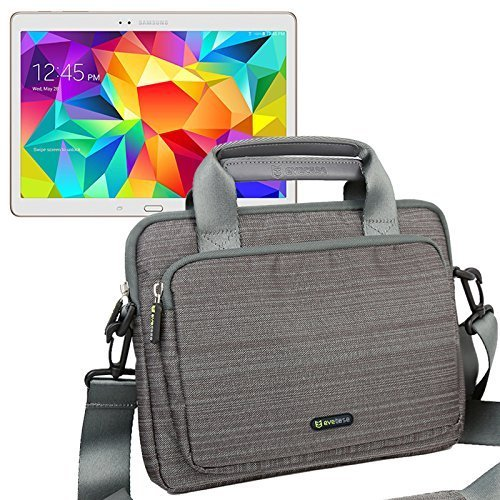 Evecase 10 pollici Tablet PC Borsa Custodia Universale in Nylon con manici Per Apple iPad Air 2, iPad Air, iPad 3, Samsung Galaxy Tab S