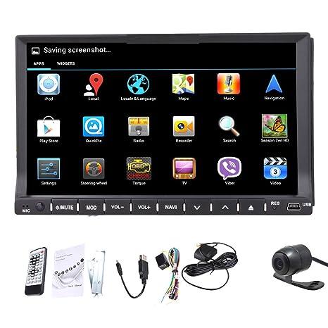 Dans le tableau 2 universel Double Din Android 4.2 GPS Wifi Bluetooth voiture DVD Autoradio stéréo avec lecteur CD automotivo CD/lecteur vidéo Headunit