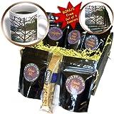Sandy Mertens Hawaii Travel Designs - Hawaiian Tree - Coffee Gift Baskets - Coffee Gift Basket (cgb_6074_1)