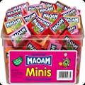 Maoam Minis Fruit Flavour Chews 60 Pieces Per Tub