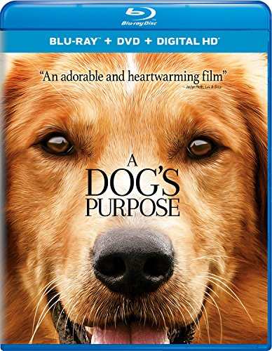 Blu-ray : A Dog\'s Purpose (With DVD, Ultraviolet Digital Copy, Digitally Mastered in HD, Snap Case, Slipsleeve Packaging)