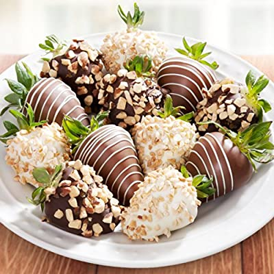 12 Nuts About Chocolate Covered Strawberries from Golden State Fruit