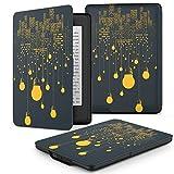 ATiC Amazon NEW-Kindle Paperwhite専用スーパー軽量薄型ケース (オートスリープ機能付き 2012/ 2013/ 2015バージョン適応) 町の夜景