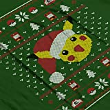 Christmas-Pikachu-Knit-Pattern-Pokemon-Womens-Hooded-Sweatshirt