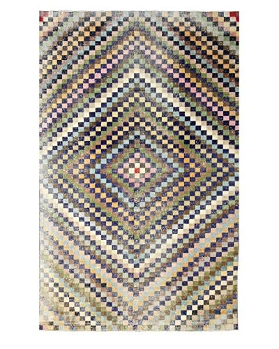 nuLOOM One-of-a-Kind Hand-Knotted Vintage Turkish Overdyed Rug, Multi, 6' 9 x 11' 1