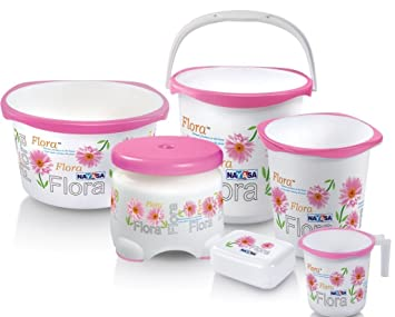 Nayasa Ring Bathroom Set 6 Pcs Set