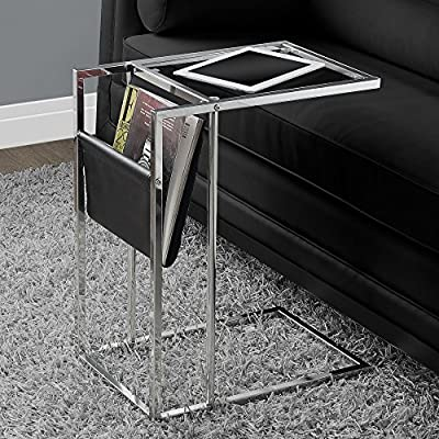 Accent Table With A Magazine Rack