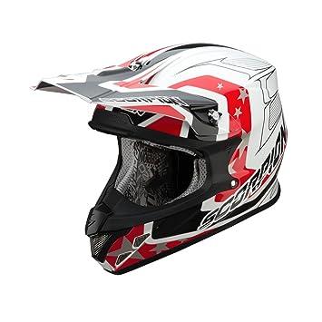 Scorpion aIR sPaCE 20 vX-casque-blanc/rouge/noir