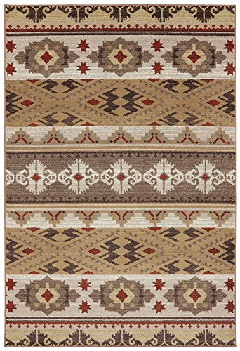Mohawk Home Madison Yuma Rug 8 By 11 Dark Butter Home