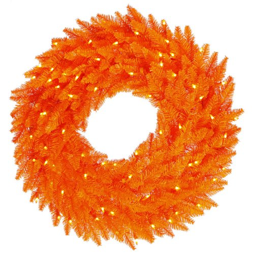featured orange christmas decorations