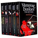 L J SMith's Vampire Diaries Books 1 to 7 Volimes (5 Books) Collection Set Pack (The Return: Midnight, The Fury: AND The Reunion, Nightfall, Shadow Souls, The Awakening: AND The Struggle)by L. J. SMITH