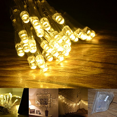 Inst 30 Led Battery String Lights For Wedding, Christmas, Parties, Etc.(Warm White)