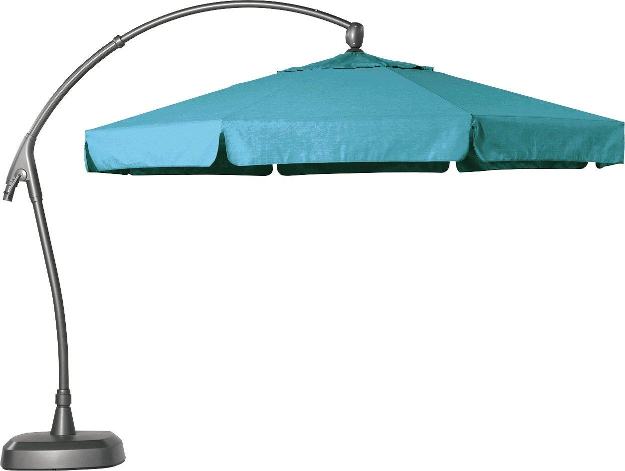 Hartman Alu Ampelschirm 350 cm Scope hell blau Sonnenschirm Sonnenschutz Alu Textil Parasol günstig kaufen