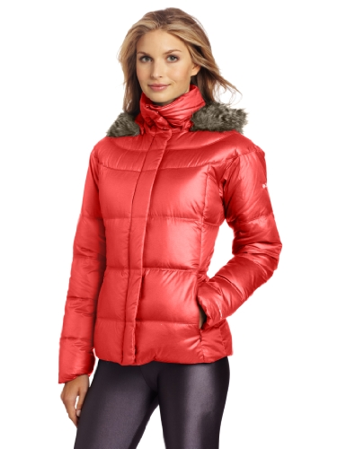 Warm Chevron Down Jacket For Women Christmas Gifts For