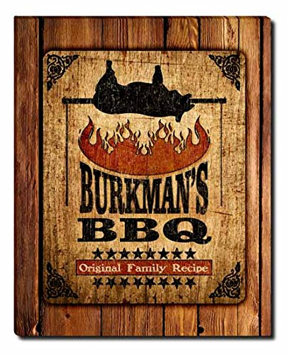Burkman's Barbecue Gallery Wrapped Canvas Print (Burkman Brothers compare prices)