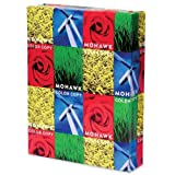 Mohawk 100% Recycled Color Copy/Laser Paper, 96 Brightness, 28 lb, Letter Size (8.5 x 11), 500 Sheets (54-301)