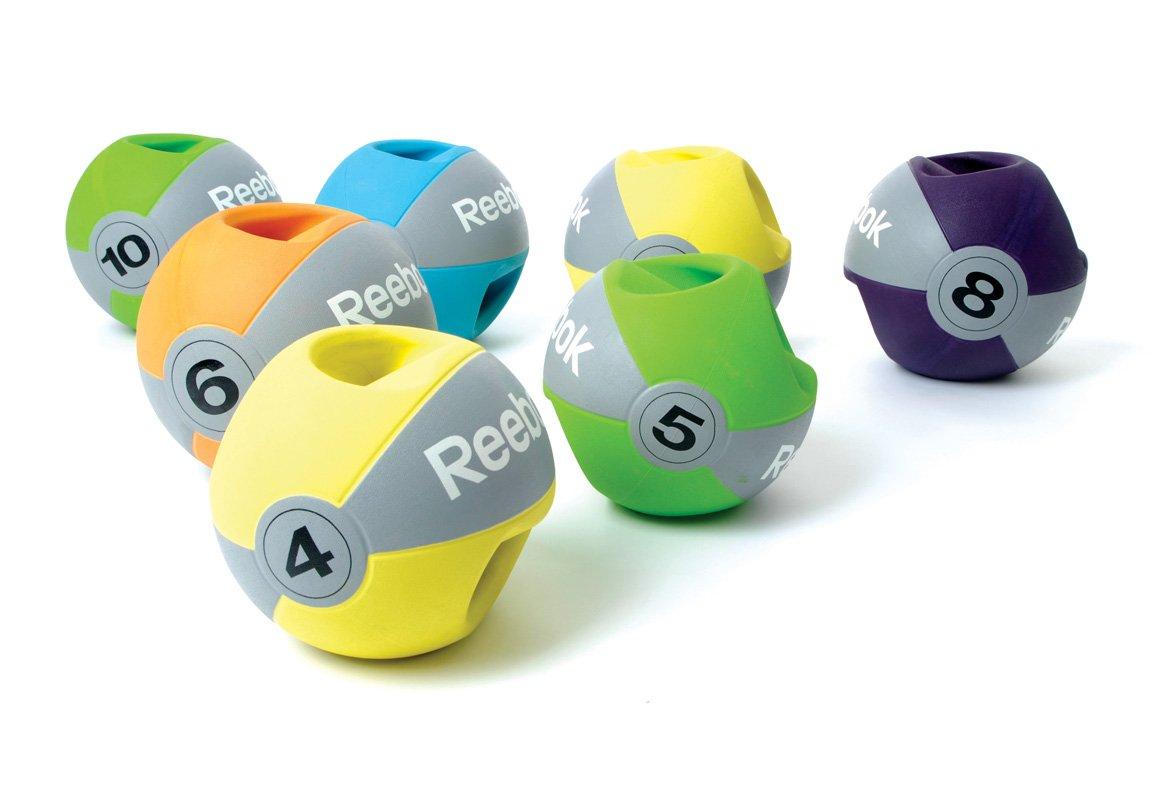 Reebok Professional Medizinball Übungen mit Griff
