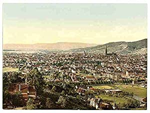 From Mount Loretto Freiburg Baden A3 Box Canvas Print