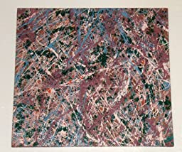 Abstract Expressionism Action Painting ~ Modern ART Piece Titled: CREATIVE MEDITATION