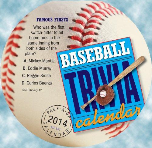 Baseball Trivia 2014 Calendar