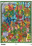 The Original DoodleArt Flowers Coloring Poster