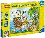 Ravensburger 10628 - Mauseschlau und B�renstark Piraten auf See 100 Teile XXL Puzzle