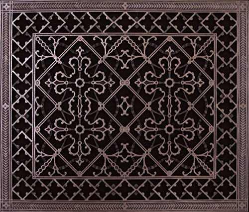 "Decorative Grill Register, Vent Cover. Decorative Grille Made To Fit Over A 20"" X 24"" Duct Opening. Total Size Of Vent Is 22"" X 26"" X 3/8"". Prefect For Wall And Ceiling Supply Grills , Vent Register, Return Air Covers, Return Grilles And Grates front-421357"