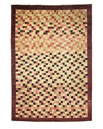 Bashian Rugs Hand Knotted One-of-a-Kind Pak Gabbeh Rug, Multi, 6' 3 x 9' 6