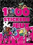 1000 stickers et jeux Monster High