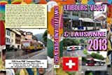 2622. Fribourg, Lausanne and Vevey. Switzerland. Trolleybuses. July 2013. Another triple feature from the third in our 2013 Swiss tour also ran down for Bex trains