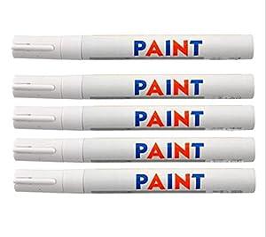 Dealetech 10+2 Universal Waterproof Permanent Paint Marker Pen Car Tyre Tire Tread Rubber .(12pcs)