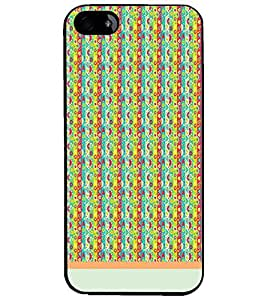 PrintDhaba Pattern D-1219 Back Case Cover for APPLE IPHONE 4 (Multi-Coloured)