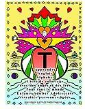 Apprendre Anglais Alphabet Livre de coloriage avec des anges et des fées Pour tout le monde Enfants Adultes Adolescents retraités personnes âgées...