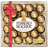 Ferrero Rocher - 24 Chocolates Box - 300g (Bow Design Packaging)