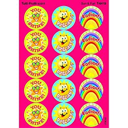 Trend Enterprises Sun & Fun Stinky Stickers (T 6419)