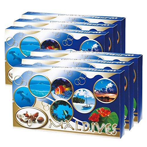 モルディブお土産 モルディブ シーシェルチョコレート 6箱セット