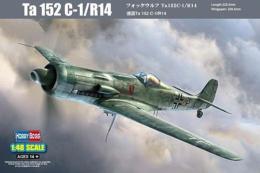 Maquette avion : Ta 152 C-1/R14