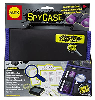 ALEX Toys - Pretend & Play, Undercover Spy Case Detective Gear Set, 409 by Alex