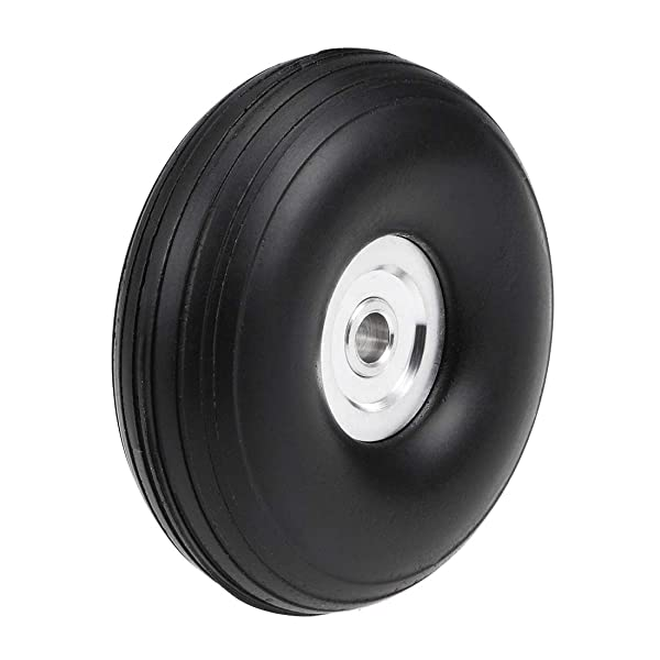 uxcell Tire and Wheel Sets for RC Car Airplane,PU Sponge Tire with Aluminum Alloy Hub,1.75 inches (Tamaño: 1.75 Aluminum Hub)